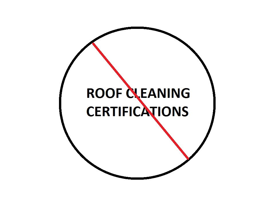 Roof Cleaning Certification- Roof Cleaning Training