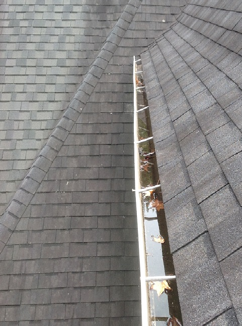 Gutter pulling away from fascia- wake forest nc