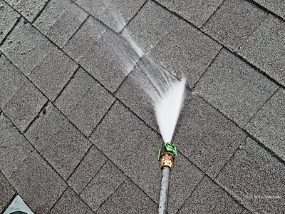 Never Pressure Wash Your Roof Roof Refresh