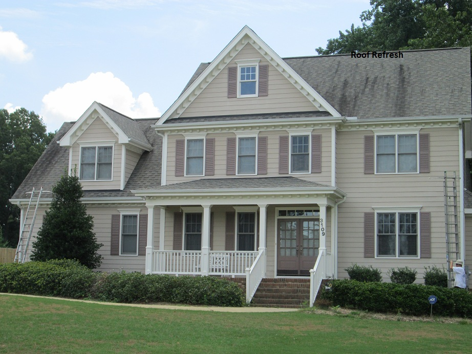 Roof Cleaning Clayton, NC