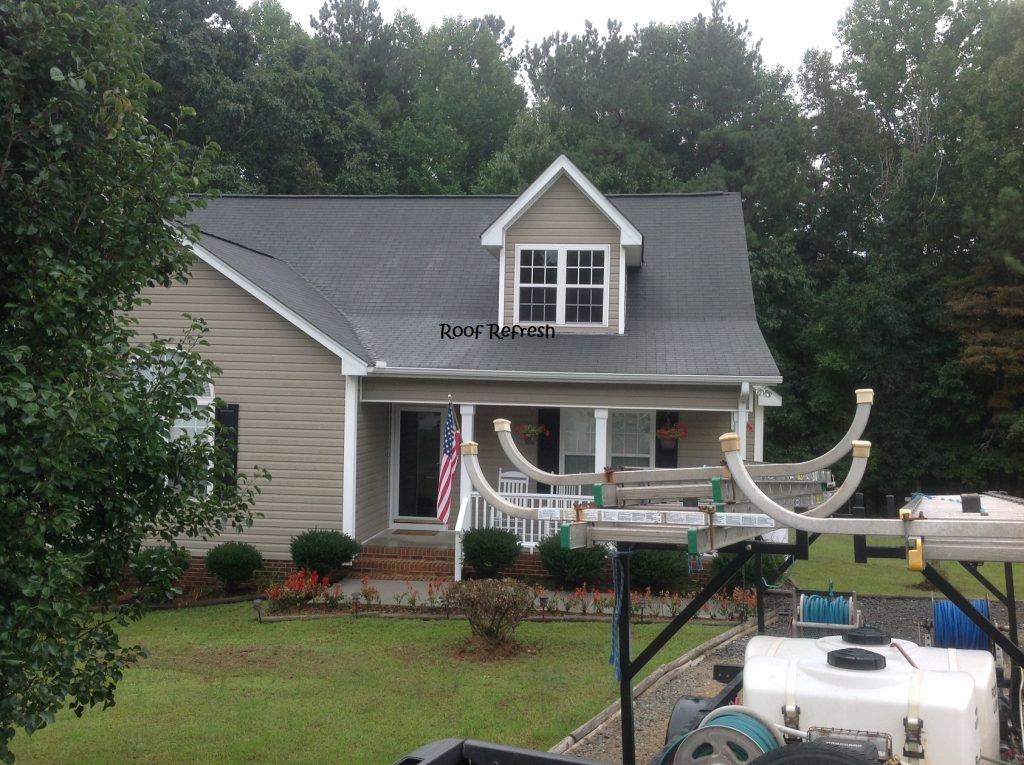 Roof mold youngsville NC