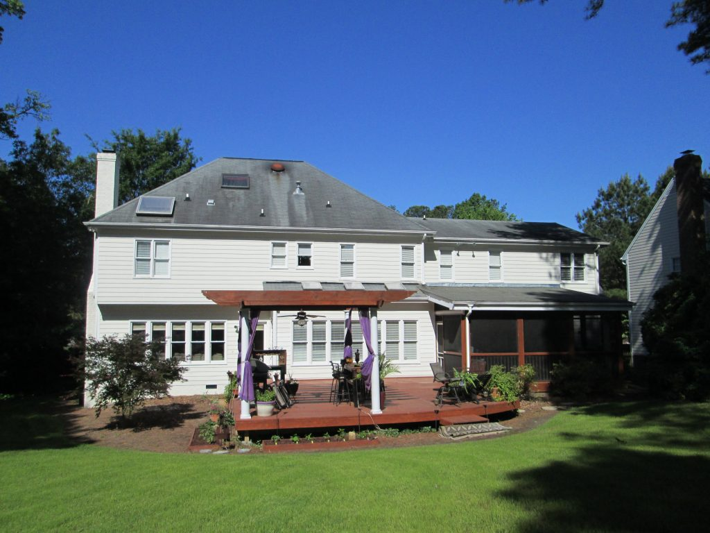 Zinc Strips Raleigh Cary Apex Roof Refresh