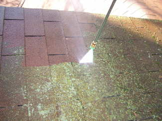 Never pressure wash your roof roof refresh - Using water pressure roof cleaning ...