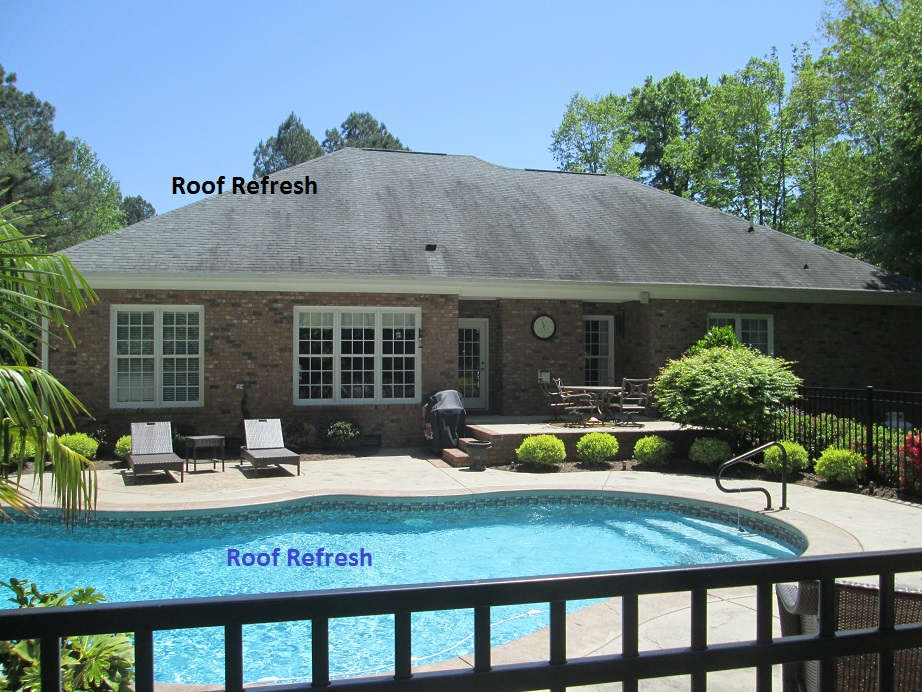 Roof Stains Roof Mold Raleigh Nc Roof Refresh