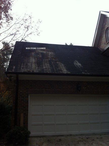 DIY Roof Cleaning Products