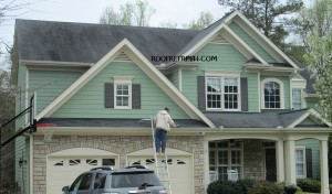 Roof stains cleaning cary nc