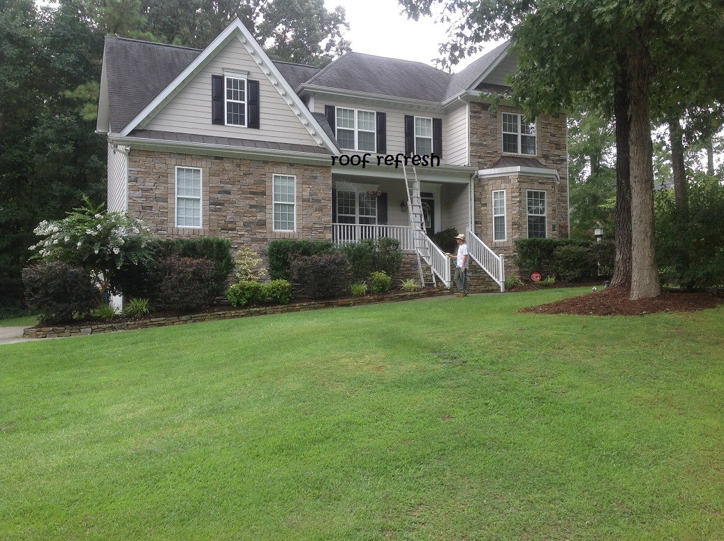 Updated: More recent roof cleaning projects
